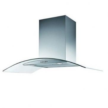 BELLING COOKER HOOD 600CGH GLASS HOOD